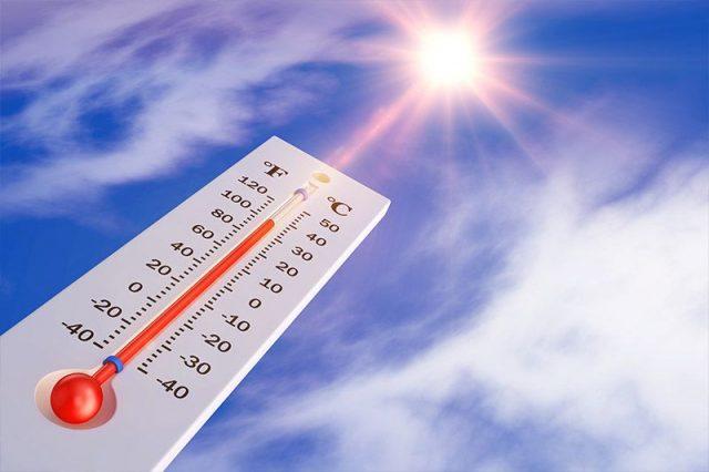 Heat Transfer Example through Radiation
